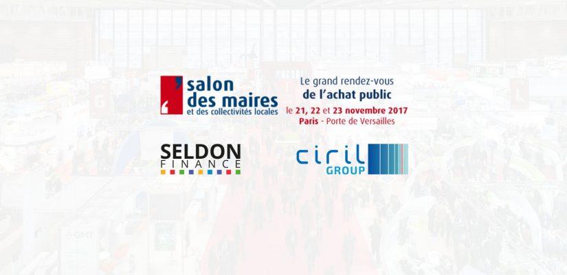 Salon des Maires 2017 Seldon Finance Ciril Group