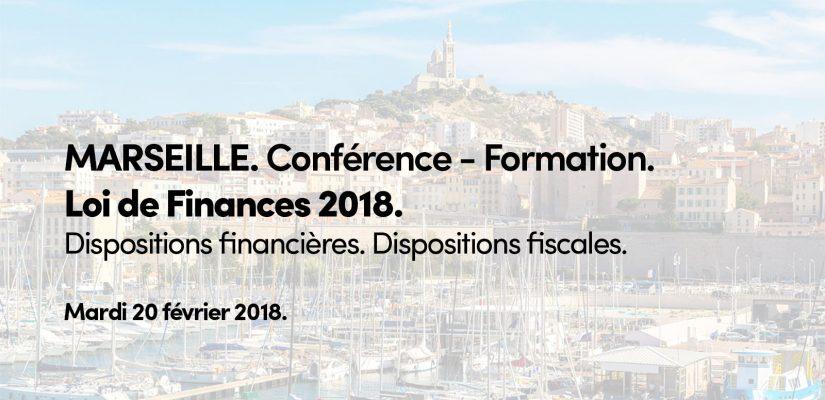 Seldon Finance Finindev Conférence Formation Loi de Finances 2018 Marseille